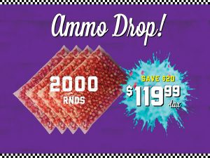 2000 paintball rounds price
