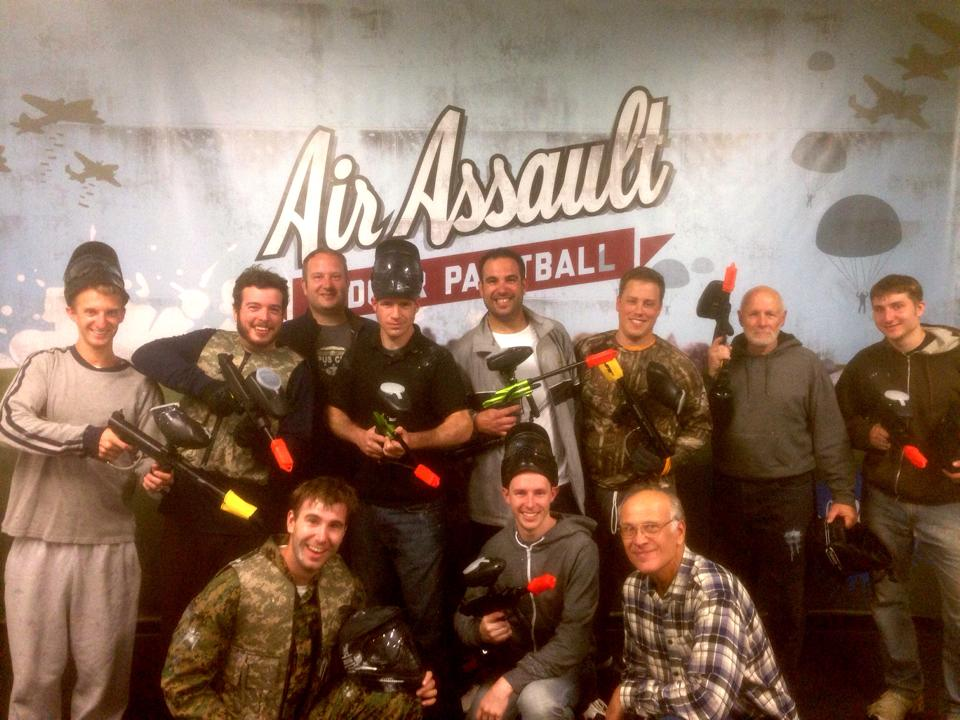 Bachelor Party Paintball