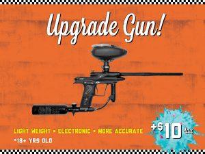upgraded paintball gun