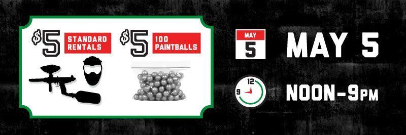 Cinco De Mayo Indoor Paintball