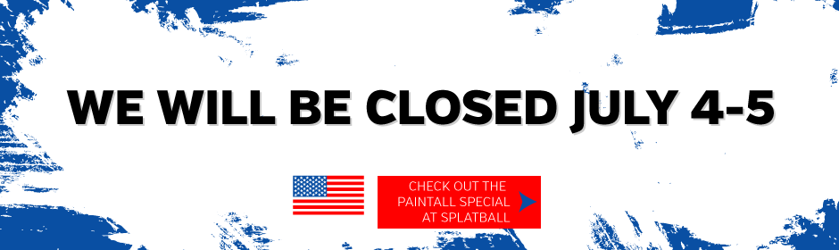 July 4th weekend paintball special