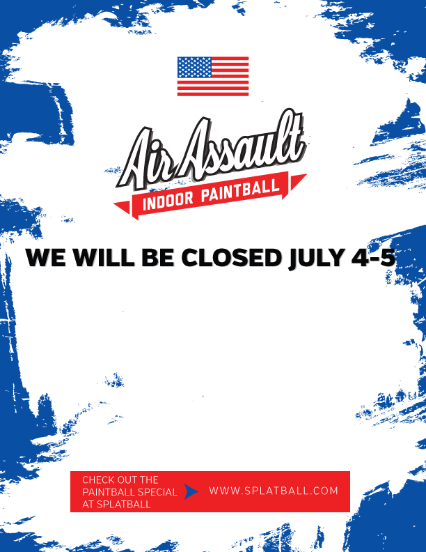 Play Paintball on July 4th