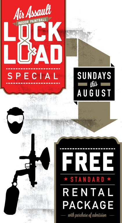 Paintball Special for August