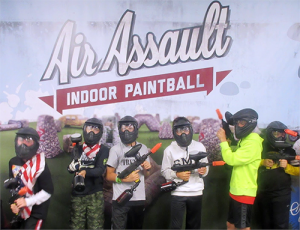 Paintball Birthday Parties