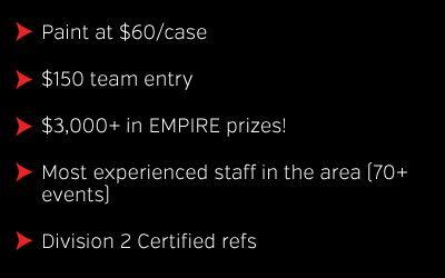 Empire 4.5 paintball tournament details