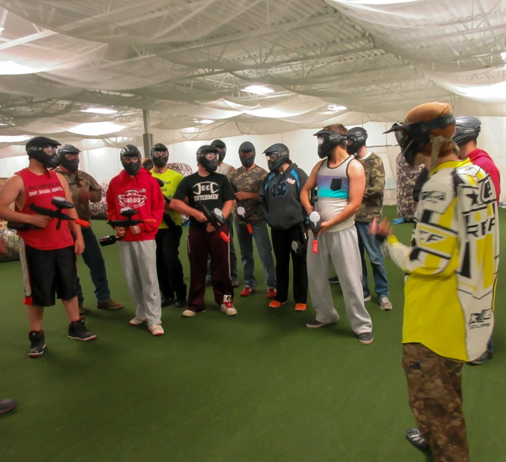 indoor paintball field located in twin cities