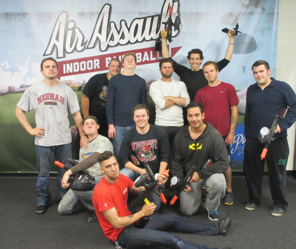bachelor party paintball special