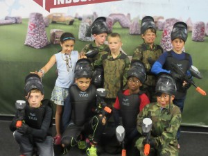 Paintball parties for Birthdays