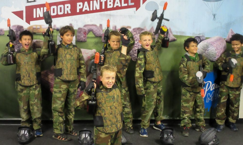 nerf birthday paintball parties in minnesota