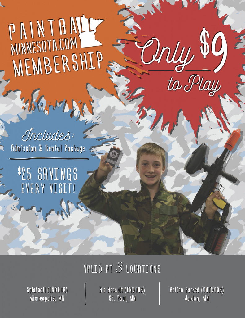 Paintball Minnesota Membership