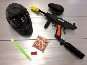 paintball package
