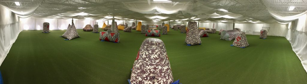 indoor paintball center mn